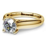 Trellis Solitaire Engagement Ring in Yellow Gold | Thumbnail 04