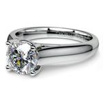 Trellis Solitaire Engagement Ring in Palladium | Thumbnail 04