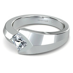 Trident Moissanite Mangagement Ring | Thumbnail 01