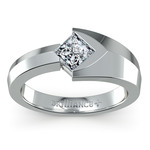 Trident Moissanite Mangagement Ring | Thumbnail 02