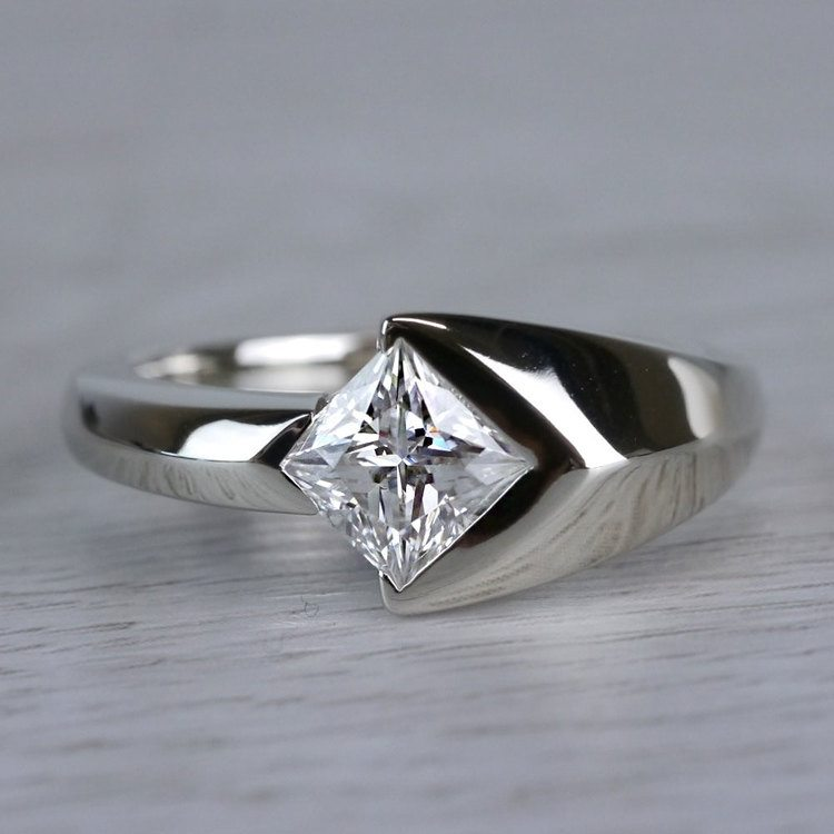 Trident Moissanite Mangagement Ring | 05