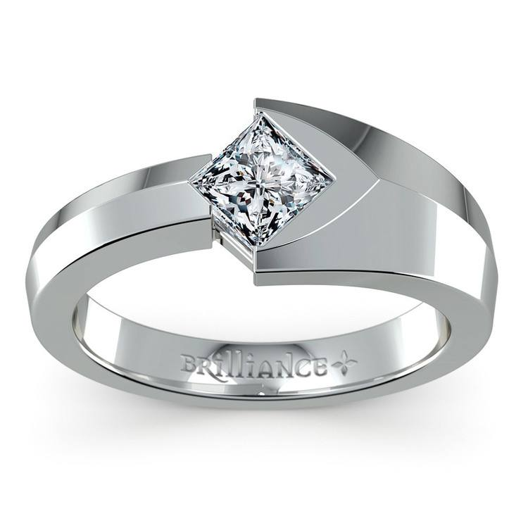 Trident Moissanite Mangagement Ring | 02