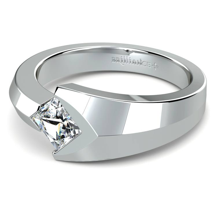 Trident Solitaire Mangagement™ Ring (1 ctw) | 04