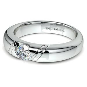 Zephyr Solitaire Mangagement™ Ring (1/2 ctw)