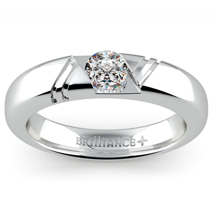 Zephyr Solitaire Mangagement™ Ring (1/2 ctw) | 01
