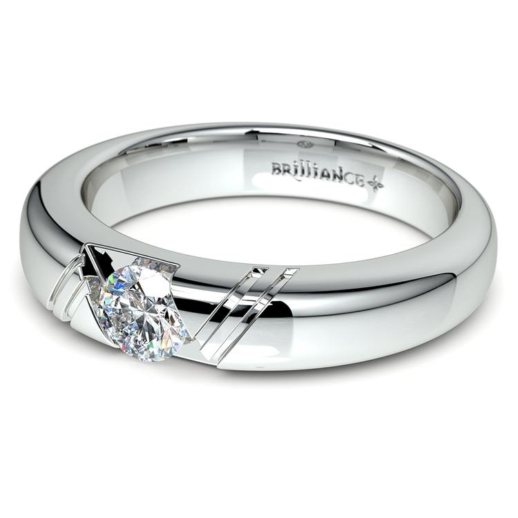 Zephyr Solitaire Mangagement™ Ring (1/2 ctw) | 04