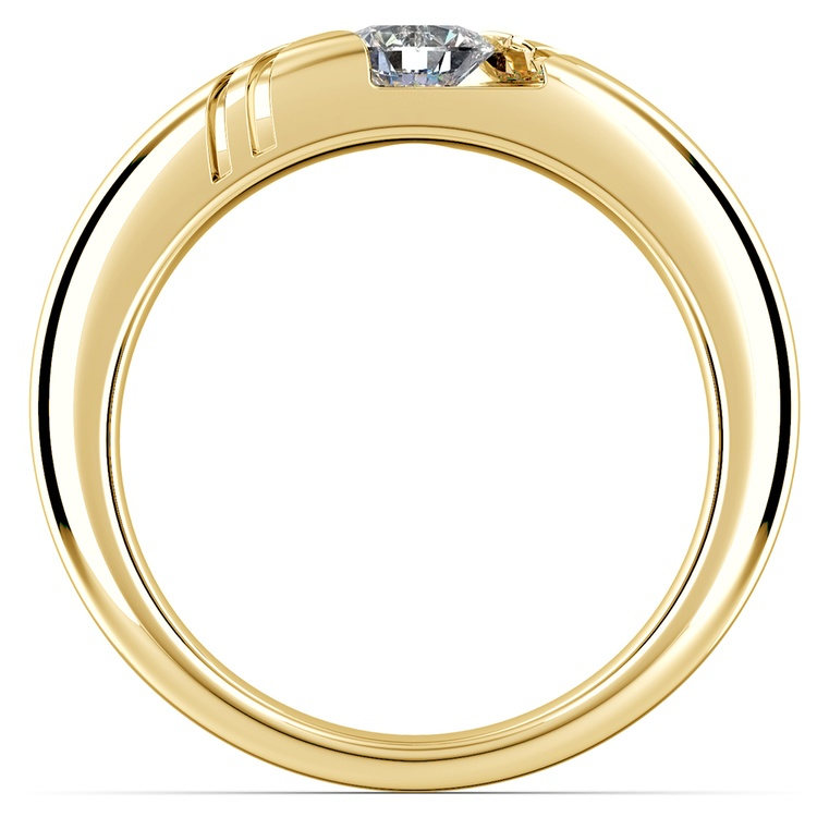 Zephyr Solitaire Mangagement™ Ring in Yellow Gold (1/2 ctw) | 02