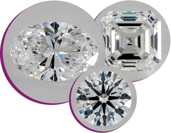 examples of fancy diamond shapes