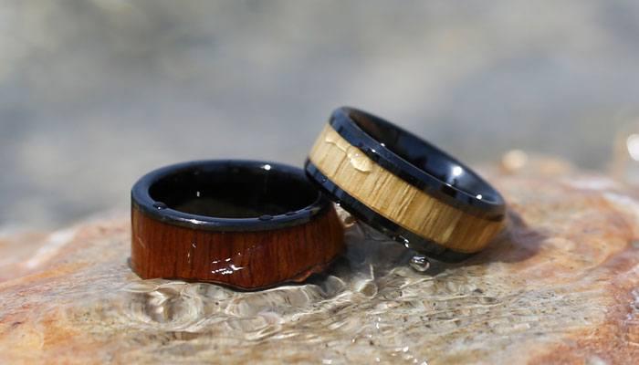 Koa Rings