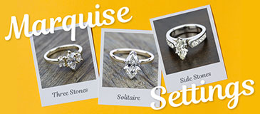 How to Choose a Ring Setting for a Marquise Diamond