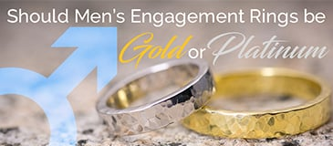 Should Men's Engagement Rings Be Gold or Platinum?