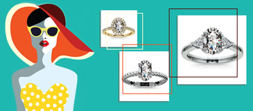 Picking the Best Styles for Oval Engagement Rings