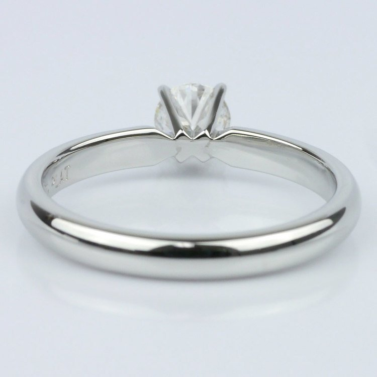 0.40 Carat Round Comfort-Fit Solitaire Engagement Ring angle 4