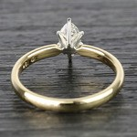 Marquise Classic Solitaire Diamond Engagement Ring (0.50 Carat) - small angle 4