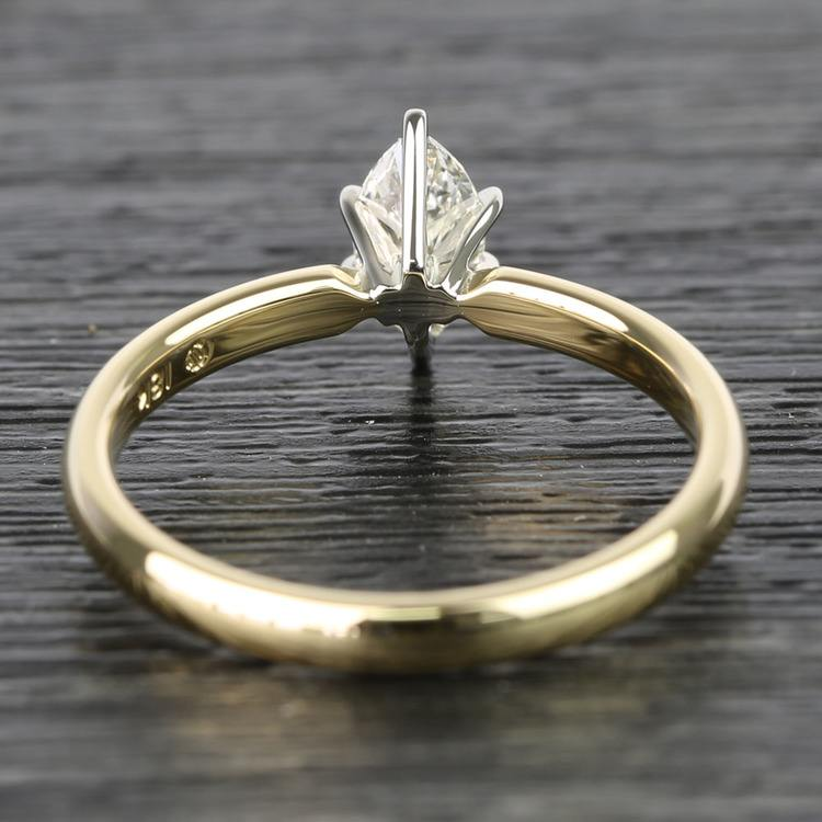 Marquise Classic Solitaire Diamond Engagement Ring (0.50 Carat) angle 4