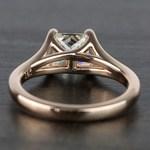 Custom Princess Split Shank Diamond Engagement Ring (1 Carat) - small angle 4