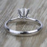 1.19 Carat Round Classic Solitaire Diamond Engagement Ring - small angle 4