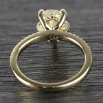 1.20 Carat Pear Claw Prong Diamond Engagement Ring - small angle 4