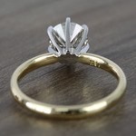 1.20 Carat Round Comfort-Fit Solitaire Diamond Engagement Ring - small angle 4