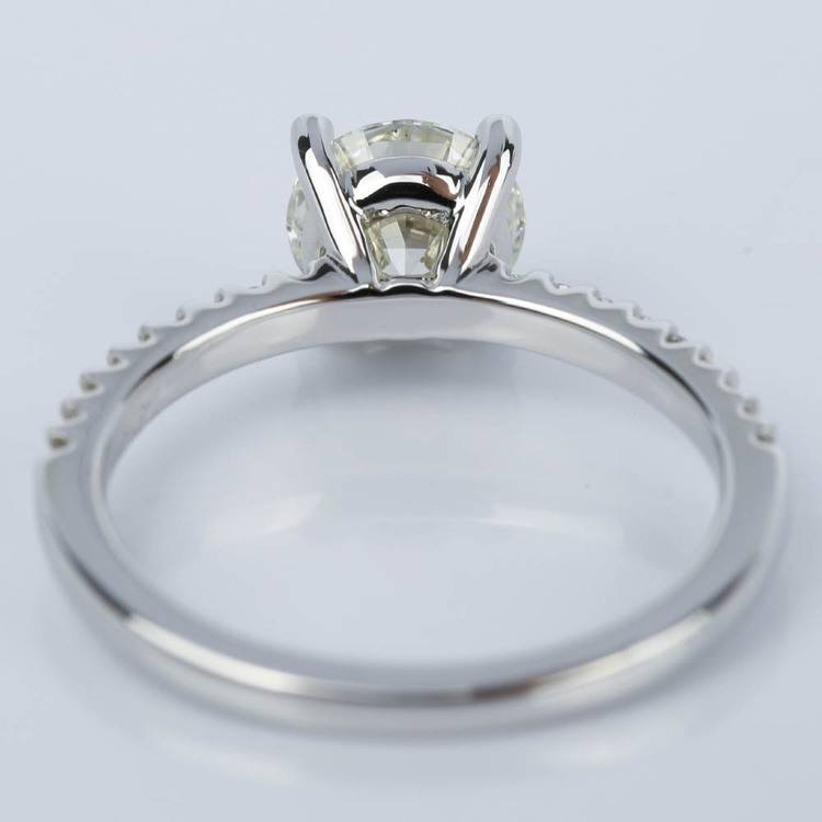Super Ideal Cut Diamond Engagement Ring (1.25 ct.) angle 4