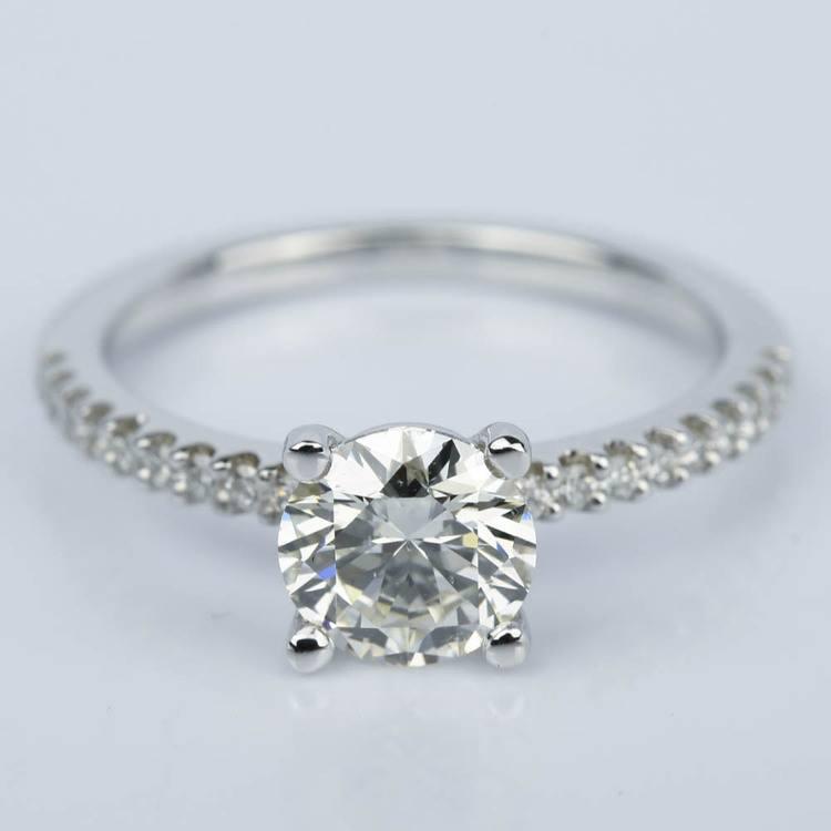 Super Ideal Cut Diamond Engagement Ring (1.25 ct.)