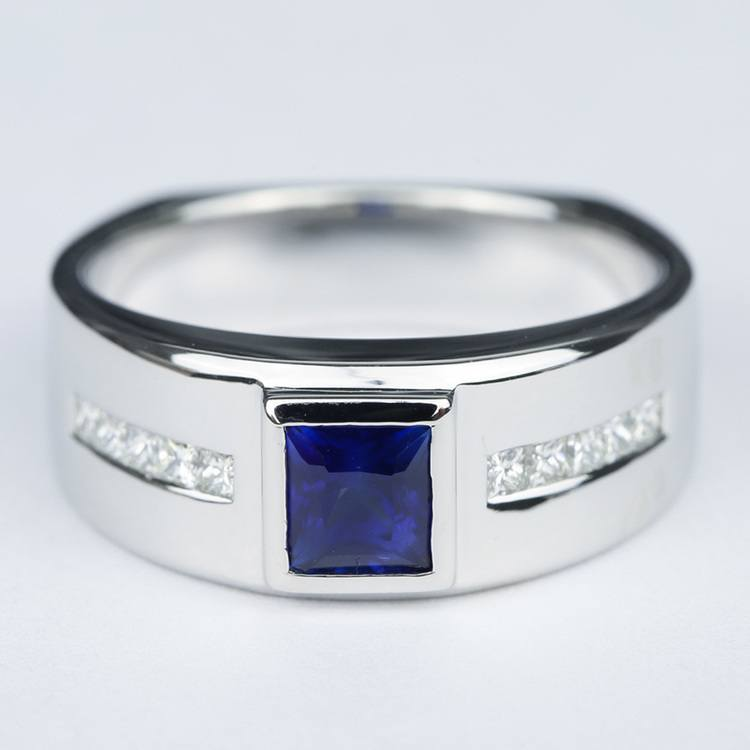 Blue Sapphire Orion Diamond Mangagement™ Ring