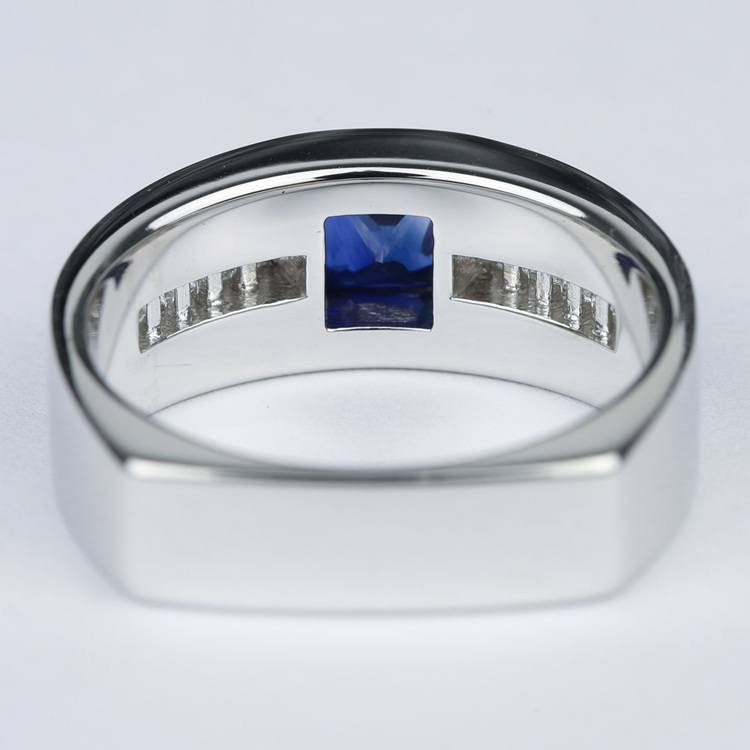 Blue Sapphire Orion Diamond Mangagement™ Ring angle 4