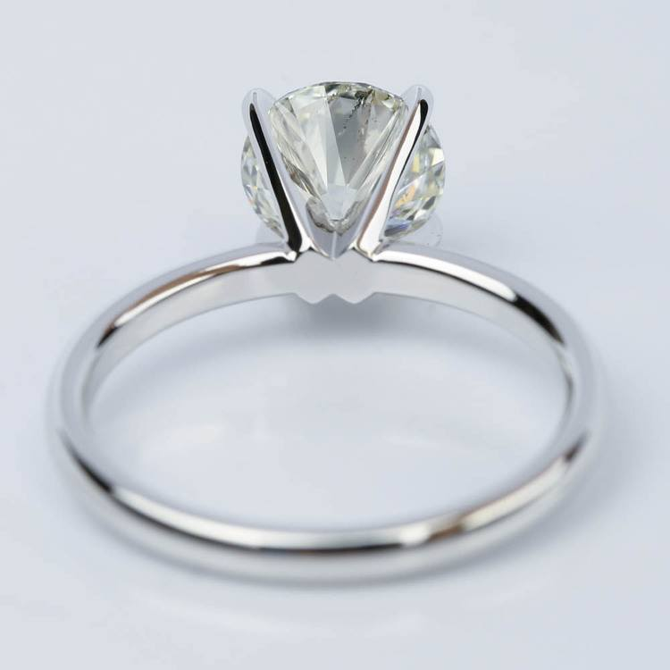 1.50 Carat Round-Cut Diamond Solitaire Engagement Ring angle 4
