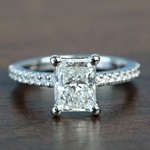 1.52 Super Ideal Radiant Loose Diamond Engagement Ring - small