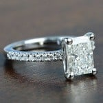1.52 Super Ideal Radiant Loose Diamond Engagement Ring - small angle 3
