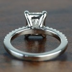 1.52 Super Ideal Radiant Loose Diamond Engagement Ring - small angle 4