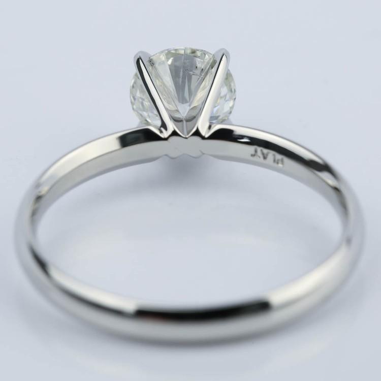1.60 Carat Round Cut Diamond Engagement Ring angle 4