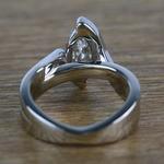 1.66 Carat Marquise Bezel Diamond Bridge Engagement Ring - small angle 4
