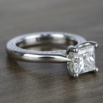 1.90 Carat Princess Diamond Braided Engagement Ring - small angle 3