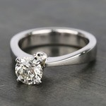 1 Carat IGI Certified Diamond Solitaire Engagement Ring - small angle 2