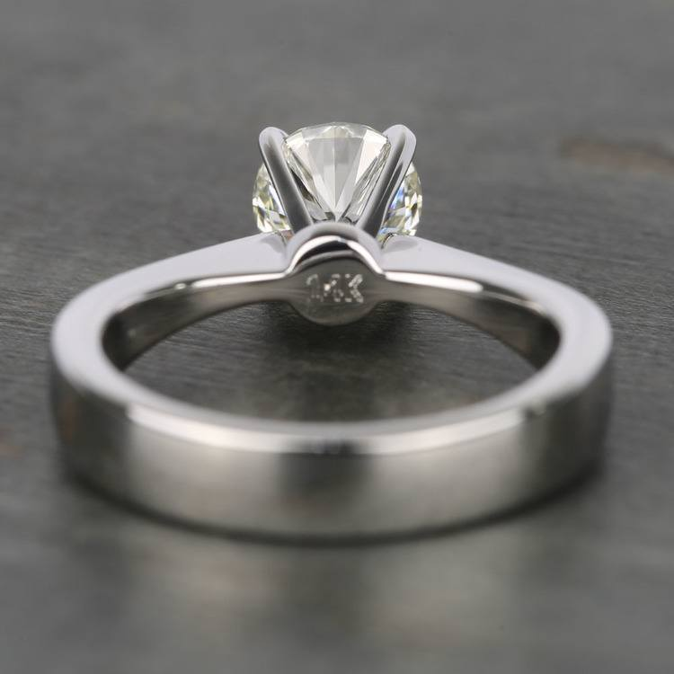 1 Carat IGI Certified Diamond Solitaire Engagement Ring angle 4