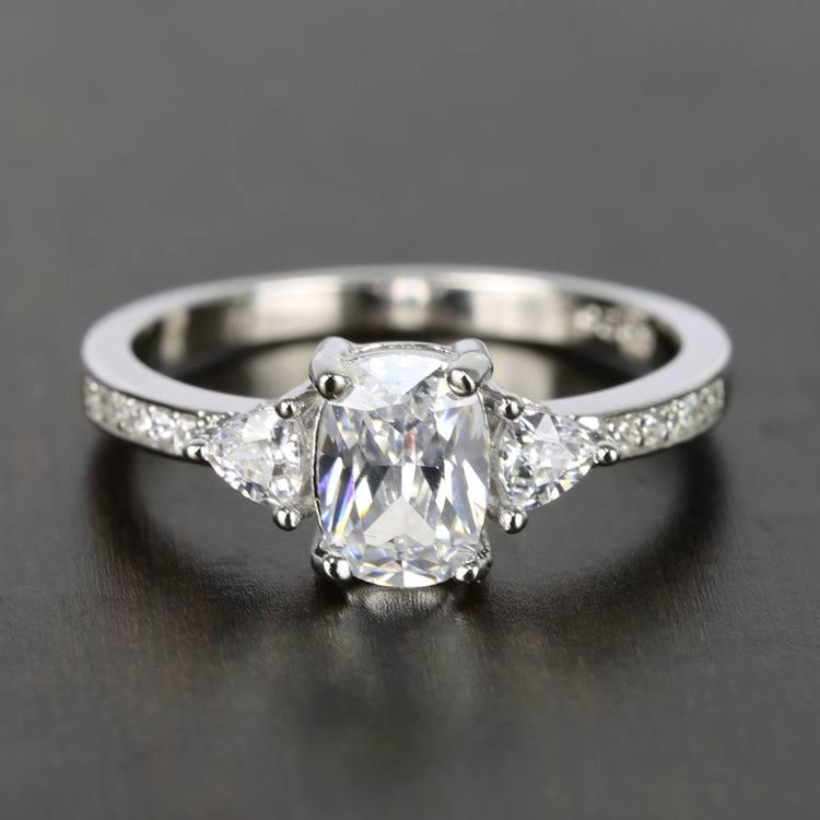 Carat Diamond Platinum Ring