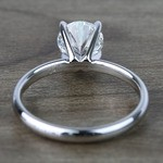1 Carat Round Classic Solitaire Diamond Ring - small angle 4