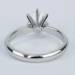 1 Carat Round Diamond Six-Prong Solitaire Engagement Ring - small angle 4