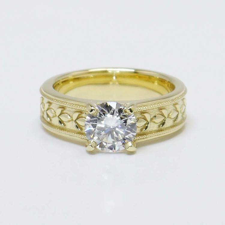 Elysium 1.25 Carat Round Solitaire Diamond Mangagement™ Ring
