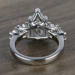 2.5 Carat Pear Trellis Diamond Engagement Ring - small angle 4