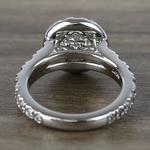 2 Carat Round Custom Halo Diamond Ring - small angle 4