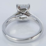 2 Carat Trellis Radiant Diamond Engagement Ring - small angle 4