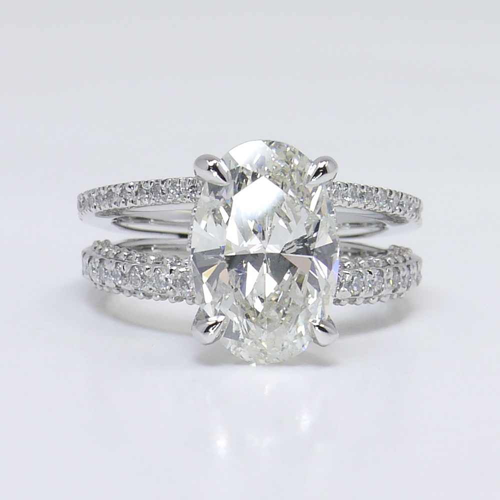4 66 Carat Diamond Wedding Ring
