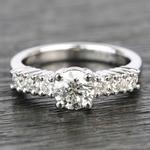 7-Stone Custom Round Diamond Engagement Ring - small