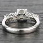7-Stone Custom Round Diamond Engagement Ring - small angle 4
