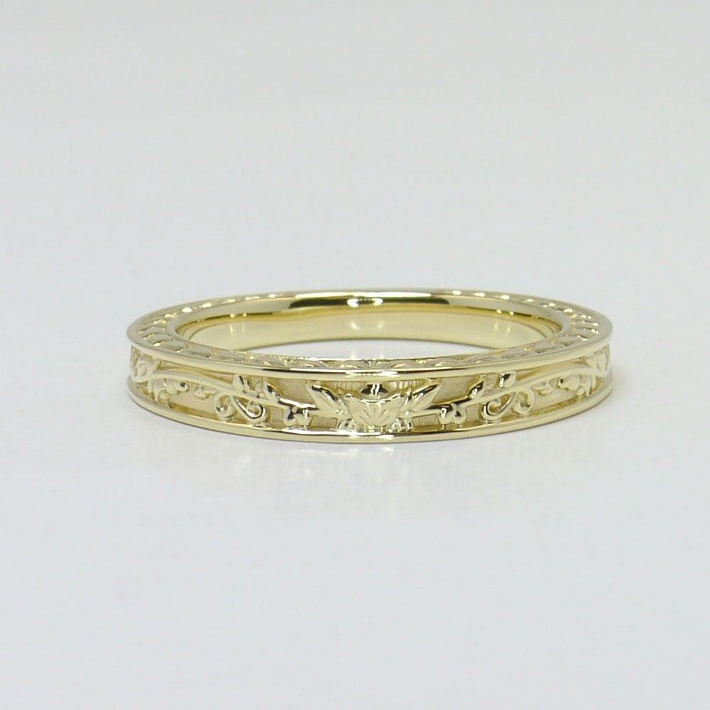 antique floral wedding ring. Black Bedroom Furniture Sets. Home Design Ideas