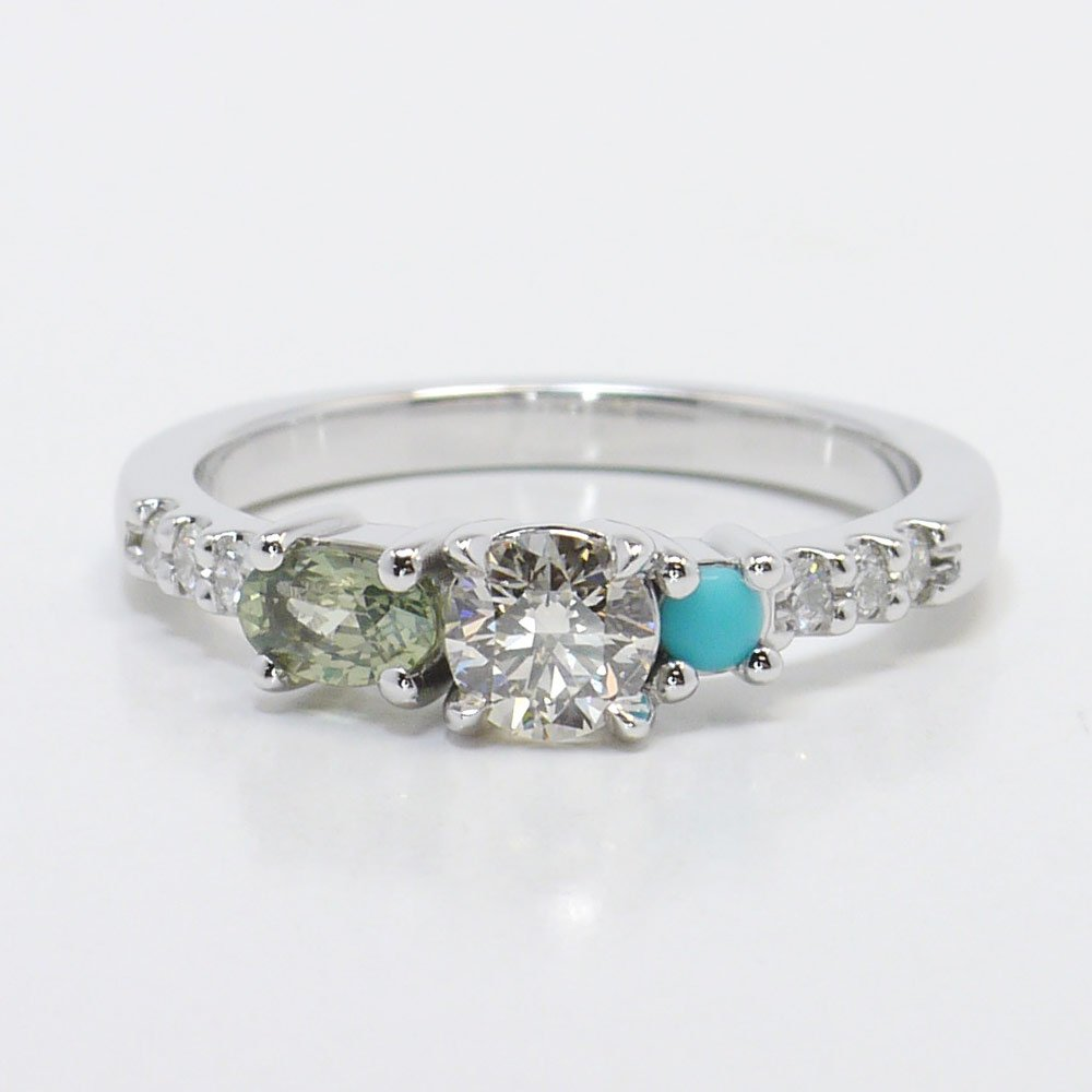 engagement kelsall ring harriet rings asymmetrical