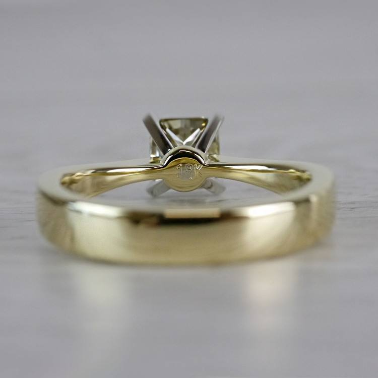 Beautifully Fancy Brown Diamond Solitaire Engagement Ring angle 4