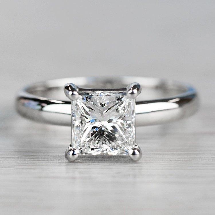 Brilliant Comfort-Fit Solitaire 2 Carat Diamond Ring